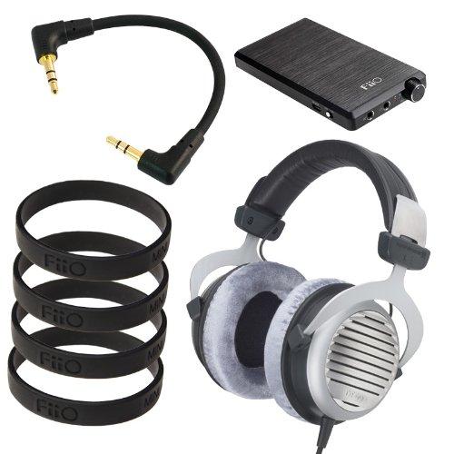 Beyerdynamic Dt 990 Premium 600 Ohm With Fiio E12 Headphone Amp Bundle
