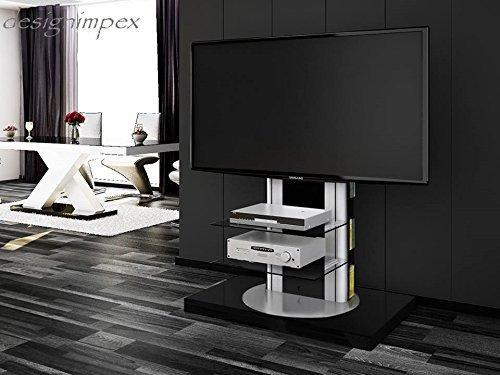 Fernsehtisch H-777 Schwarz Hochglanz drehbar TV Möbel TV Rack LCD inkl. TV-Halterung