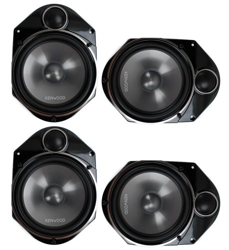 "4) Kenwood Kfc-P680C 6X8"" 400 Watt 2-Way Car Audio Component Speakers Kfcp680C"