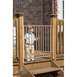 When It Comes To Guarding Your Deck Stairs, You Want The Toughest Safety  Gate Available. Well, We Found It! This Rugged Gate Is Made Of Lightweight  Aluminum ...