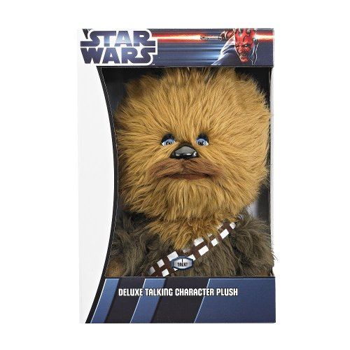 "Star Wars - 15"" Deluxe Talking Character Plush - CHEWBACCA"