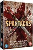 The Spartacus Collection (Gods of the Arena, Blood and Sand, Vengeance) [DVD]