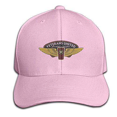 Veterans United Freedom Is Not Free Solid Color Hat Unisex Pink