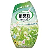 お部屋の消臭力 消臭芳香剤 部屋用 ハーブグリーン朝もやの草原の香り 400ml