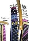 Premium Quality Wooden Tie Hanger Rac…