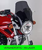 Puig Fly screen naked Yamaha YBR125/CUSTOM 08-13 / Honda CG125 black tinted 90%