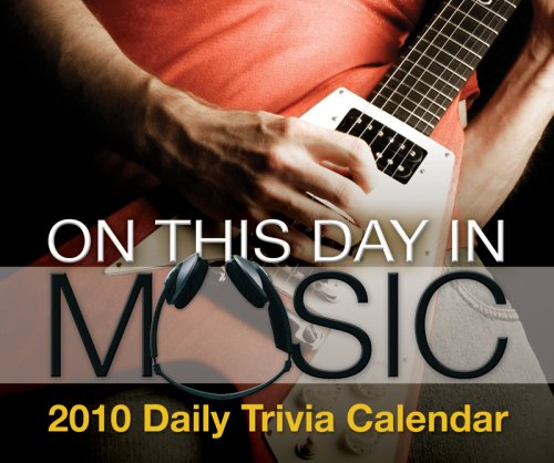 On This Day in Music 2010 Box Calendar