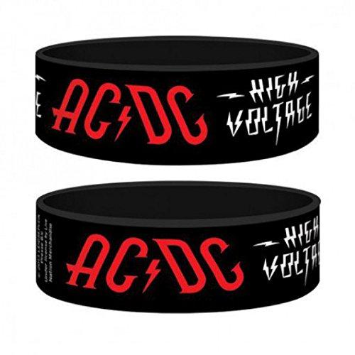 AC/DC - High Voltage Braccialetto (6 x 2cm)