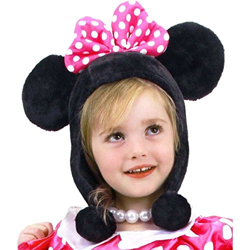 Toddler Minnie Mouse Bow-Tique Hoodie Hat