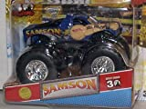 2012 HOT WHEELS 1:64 SCALE 1ST EDITIONS SAMSON MONSTER JAM TRUCK WITH TOPPS TRADING CARD