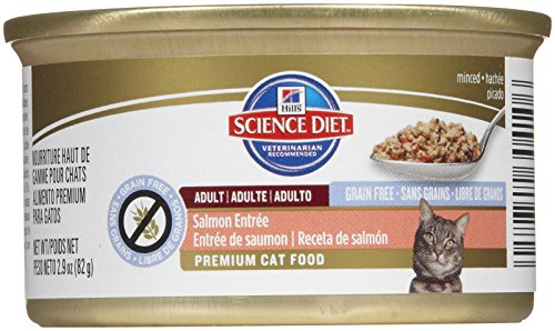 Hill's Science Diet Adult Grain Free Salmon Entrée