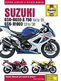 Suzuki GSX-R600 (04 On) GSX750 (04 On) and GSX-R1000 (03 On) Service and Repair Manual (Haynes Service and Repair Manuals) Matthew Coombs