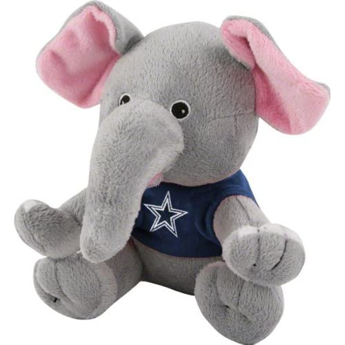 Amazon.com : Dallas Cowboys Plush Baby Elephant : Plush Animal Toys
