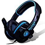 SADES SA-708 Stereo Gaming Headphone...
