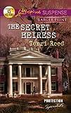 The Secret Heiress (Love Inspired Large Print Suspense)
