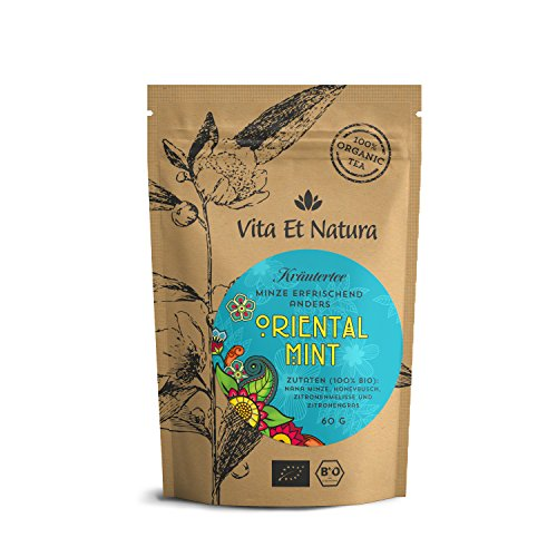 Vita-Et-Natura-Oriental-Mint-60g-loser-BIO-Tee-mit-Nana-Minze-Spearmint-Honeybush-Zitronenmelisse-und-Lemongras