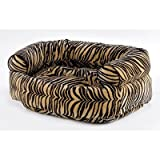 """Double Bolster Dog Bed Size: Large (42"""" L x 32"""" W), Color: Spa"""