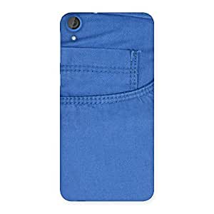 Special Blue Jeans Back Case Cover for HTC Desire 820