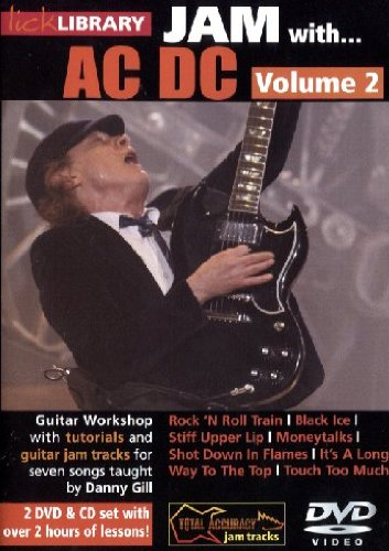 DVD Lick Library Jam With Ac/Dc Vol.2 2 DVD & 1 CD [Edizione: Germania]
