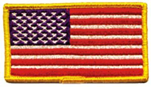 Application US Flag Patch