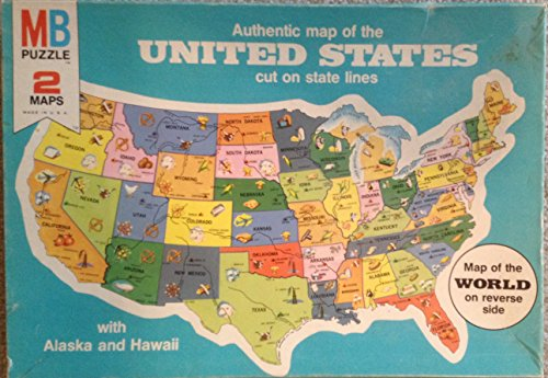 Puzzle Map of the United States - 1