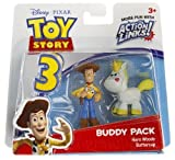 Hero Woody & Buttercup: Toy Story 3 Action Links Mini-Figure Buddy Pack
