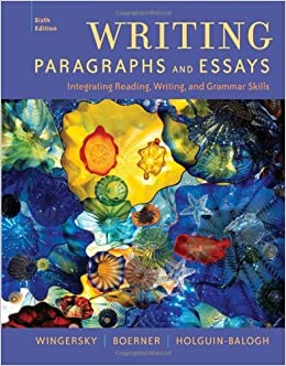 paragraphs and essays 10th edition Editions for paragraphs and essays: 1133309992 (paperback published in 2012), 0618042652 (paperback published in 2000), 0495801801 (paperback published i.