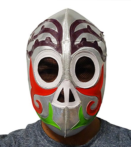 DAY OF DEAD Lucha Libre Wrestling Mask (pro-fit) Costume Wear