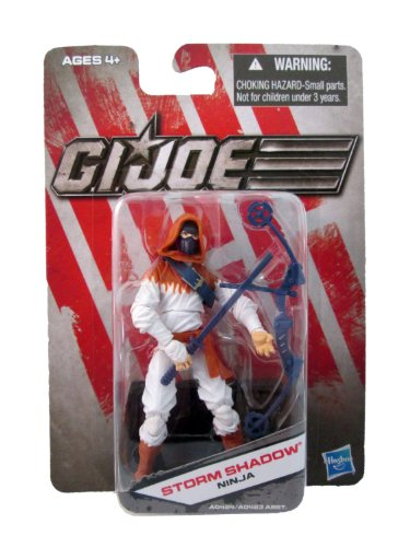 G.I. Joe Exclusive Action Figure, Storm Shadow Ninja, White Outfit (Gi Joe White Ninja compare prices)