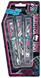 Character Monster High 3 Set Pen Stationery