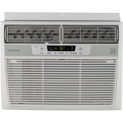 Frigidaire Force Star 12,000 BTU 115V Window-Mounted Compact Air Conditioner w/ Temperature Sensing Remote Control, FFRE1233Q1