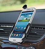 YAYAGO Kfz Halterung Lüftung für Samsung Galaxy S3 i9300 und S3 LTE + KFZ Ladekabel -Schnell-Lader- für Ihr Samsung Galaxy S3 i9300 und S3 LTE inkl. dem Original YAYAGO Clean-Pad