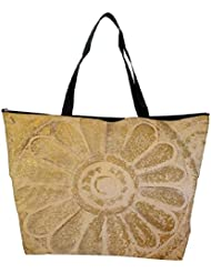 Snoogg Abstract Design In Sand Designer Waterproof Bag Made Of High Strength Nylon