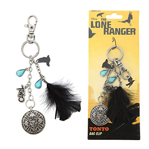 "NECA The Lone Ranger ""Tonto 2"" Bag Clip - 1"