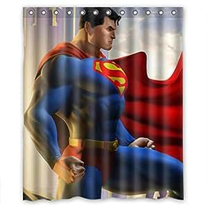 Superman Shower Curtain Lookup Beforebuying