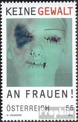 Österreich 2642 (kompl.Ausg.) postfrisch 2007 Gewalt (Briefmarken für Sammler)