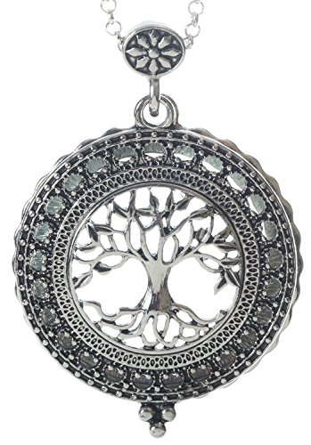 Tree-of-Life-4x-Magnifier-Magnifying-Glass-Sliding-Top-Magnet-Pendant-Necklace-30