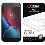 Chevron 0.3mm Pro+ Tempered Glass Screen Protector For Motorola Moto G4 Plus (Gen 4) / 4th Generation (Pack Of 3)