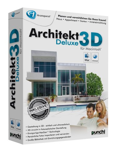 architekt 3d deluxe mac. Black Bedroom Furniture Sets. Home Design Ideas