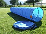 Dog and Pet 18 Foot Obedience Agility Training Tunnel