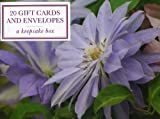 Peony Press Tin Box of 20 Gift Cards and Envelopes: Clematis (Cardbox)