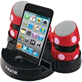Disney Minnie Mouse Portable Rechargeable Collapsible Mini Speakers