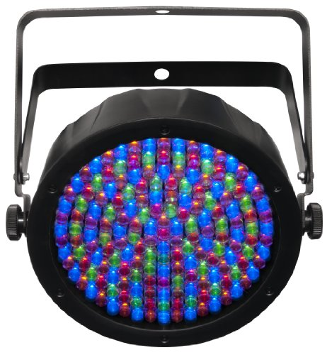 Chauvet Slimpar 64 Rgba Led Dmx512 Par Can With Added Amber Leds And Power Linking