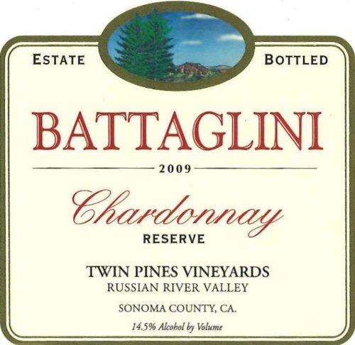 2009 Battaglini Chardonnay Reserve 750 Ml