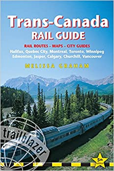 trans canada rail guide includes city guides to halifax. Black Bedroom Furniture Sets. Home Design Ideas