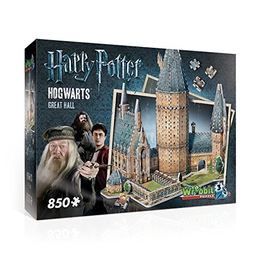 Wrebbit 3D - W3D-2014 - Puzzle - Harry Potter - Poudlard - Grand Hall