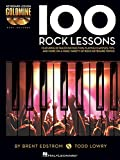 img - for 100 Rock Lessons: Keyboard Lesson Goldmine Series Book/2-CD Pack book / textbook / text book