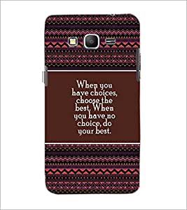 PrintDhaba Quote D-4173 Back Case Cover for SAMSUNG GALAXY GRAND PRIME (Multi-Coloured)