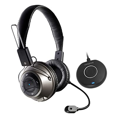 Creative Wireless HS-1200 Gaming Headset (Black)