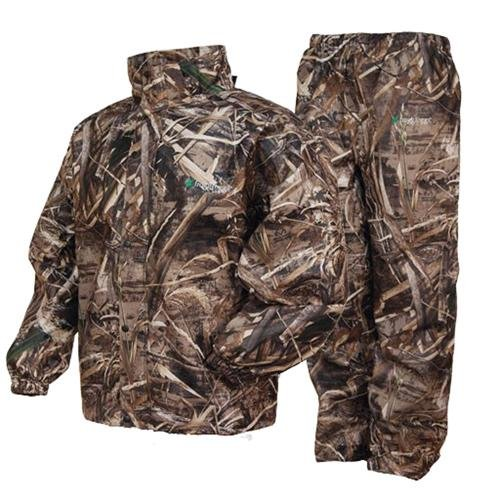 frogg toggs All Sport Camo Rain Suit, RT MAX-5, LG